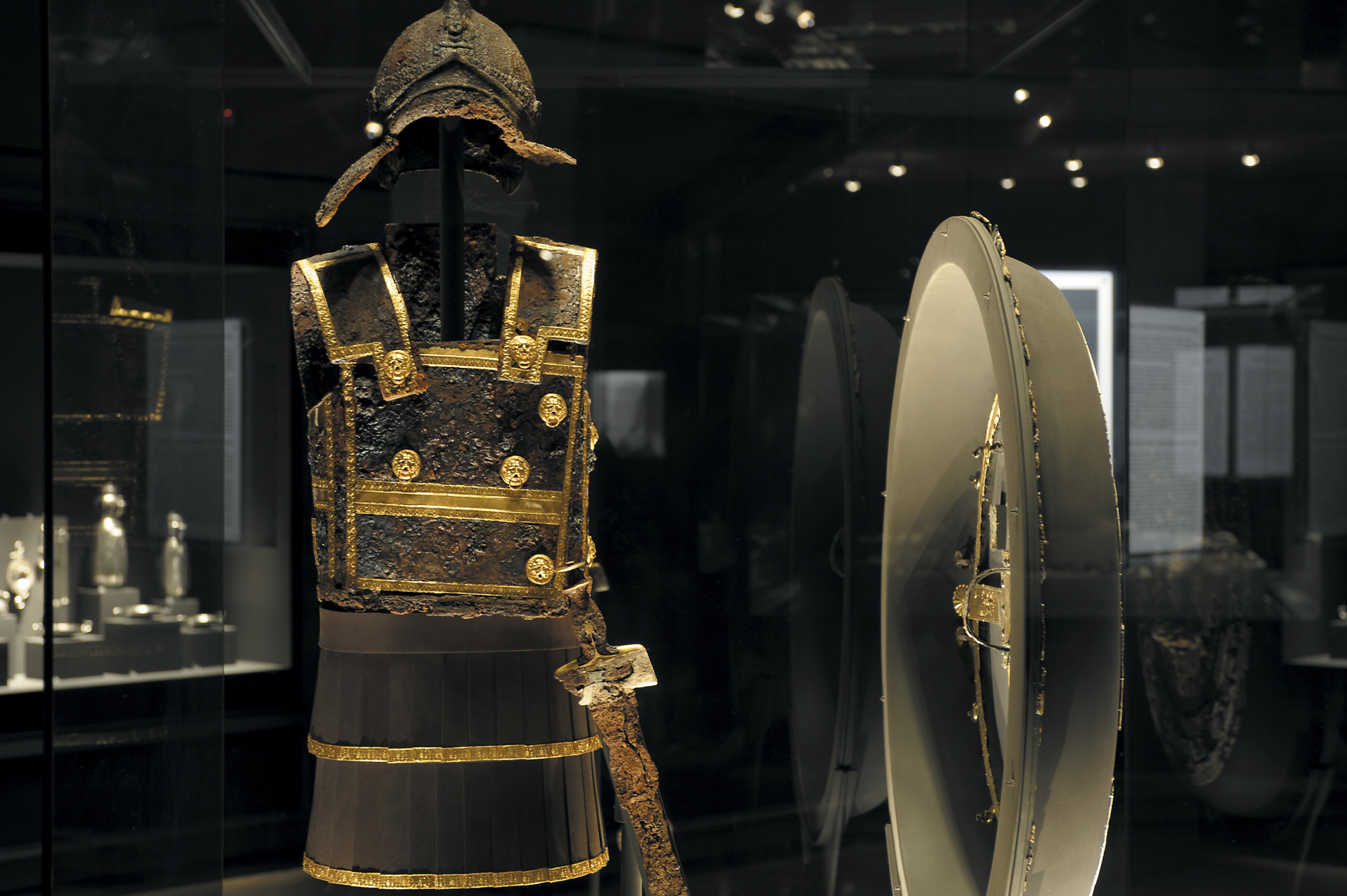Philip II's armour and shield